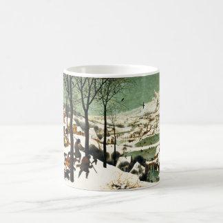Pieter Bruegel Hunters in the Snow Classic White Coffee Mug