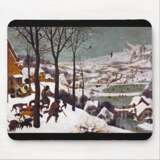 """Pieter Bruegel, """"Hunters in the Snow"""" Mouse Pad"""
