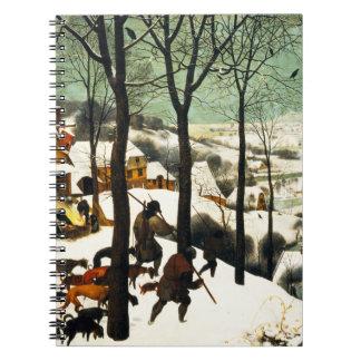 Pieter Bruegel Hunters in the Snow Notebook
