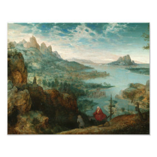 Pieter Bruegel - Landscape with flight into Egypt Photo Print