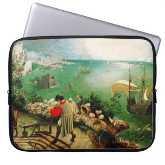 Pieter Bruegel Landscape with the Fall of Icarus Laptop Sleeves