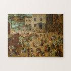 Pieter Bruegel the Elder - Children's Games Jigsaw Puzzle