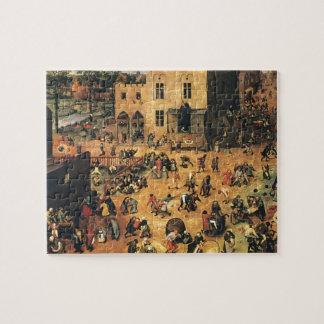 Pieter Bruegel the Elder- Children's Games Jigsaw Puzzle