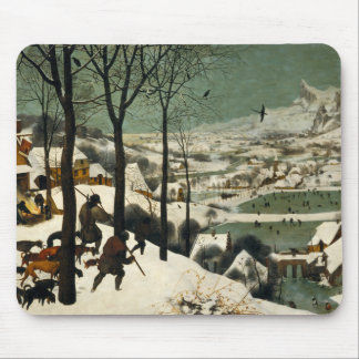 Pieter Bruegel the Elder - Hunters in the Snow Mouse Pad