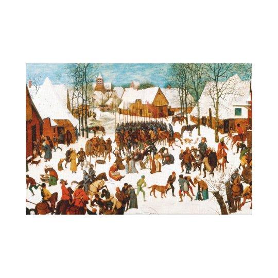 Pieter Bruegel the Elder-Massacre of the Innocents Canvas Print