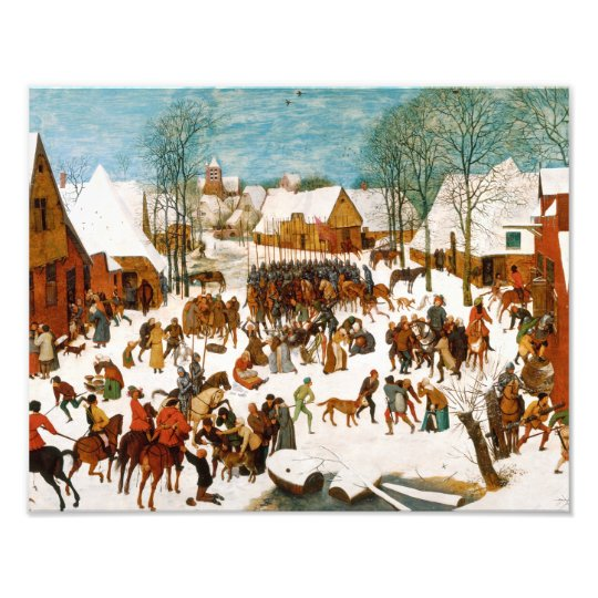 Pieter Bruegel the Elder-Massacre of the Innocents Photo