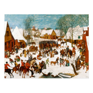 Pieter Bruegel the Elder-Massacre of the Innocents Postcard