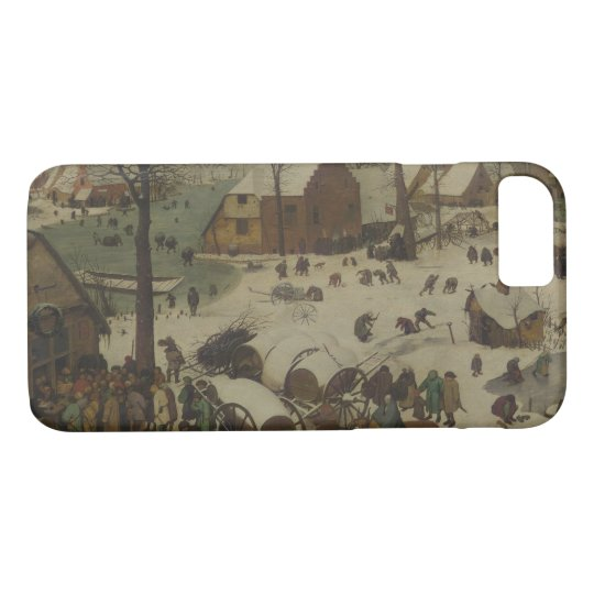 Pieter Bruegel the Elder -  Numbering at Bethlehem iPhone 8/7 Case
