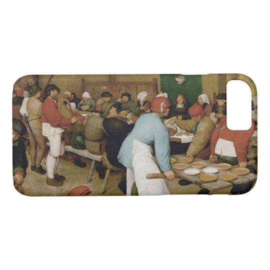 Pieter Bruegel the Elder - Peasant Wedding iPhone 8/7 Case