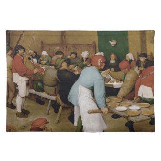 Pieter Bruegel the Elder - Peasant Wedding Cloth Place Mat