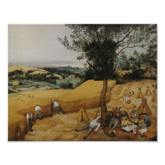 Pieter Bruegel the Elder - The Harvesters Photo Print