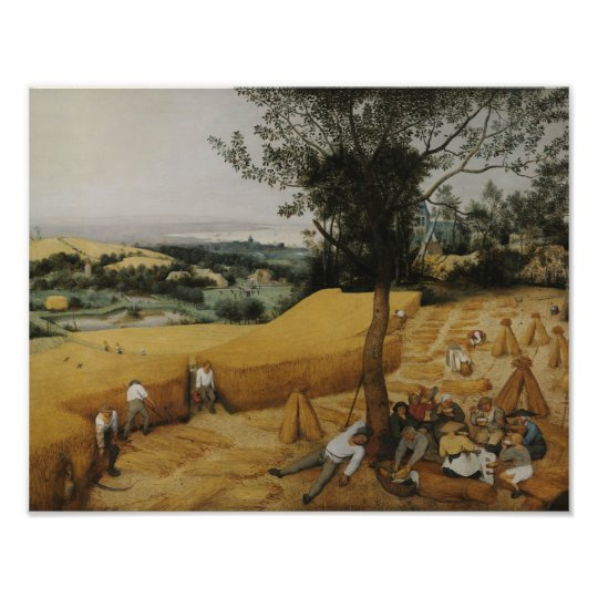 Pieter Bruegel the Elder - The Harvesters Photographic Print