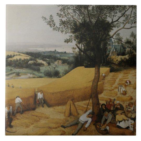 Pieter Bruegel the Elder - The Harvesters Tile