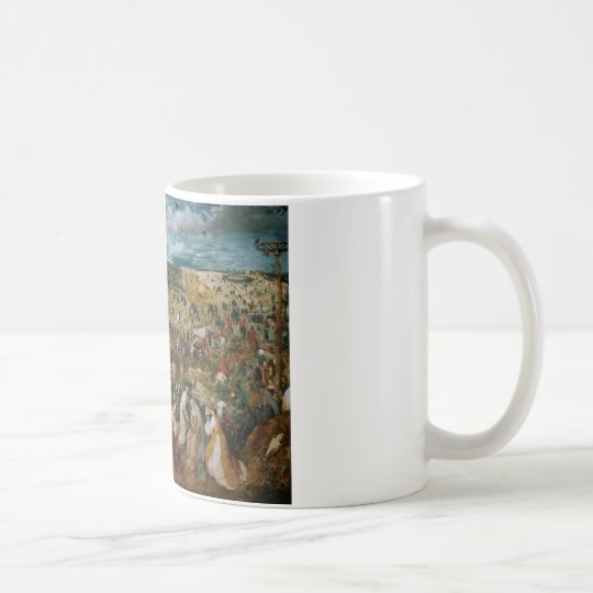 Pieter Bruegel the Elder-The Procession to Calvary Coffee Mug
