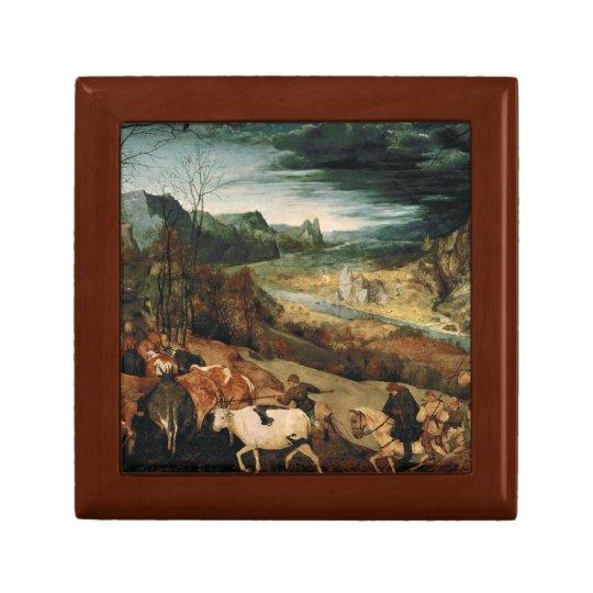 Pieter Bruegel the Elder - The Return of the Herd Gift Box