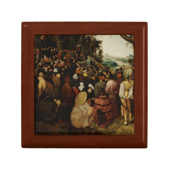 Pieter Bruegel the Elder - The Sermon of St John Gift Box