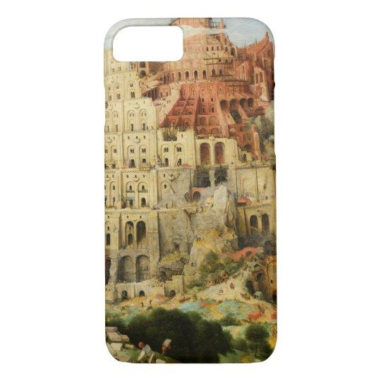 Pieter Bruegel the Elder - The Tower of Babel iPhone 8/7 Case
