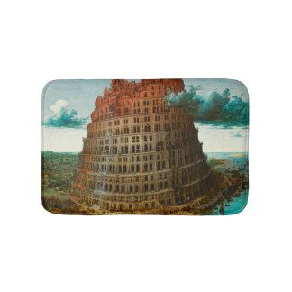 PIETER BRUEGEL - The little tower of Babel 1563 Bath Mat