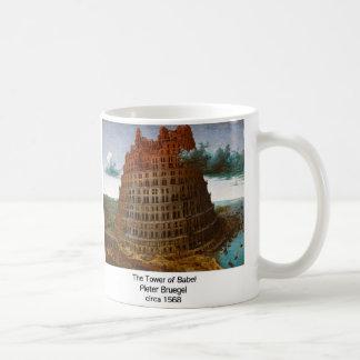 "Pieter Bruegel, ""The Tower of Babel"", 1568 Coffee Mug"