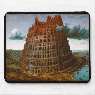 """Pieter Bruegel, """"The Tower of Babel"""" and c.1568 Mouse Pad"""