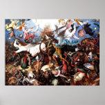 "Pieter Bruegel's ""The Fall Of The Rebel Angels"""