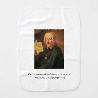 Pietro Alessandro Gaspare Scarlatti Burp Cloth