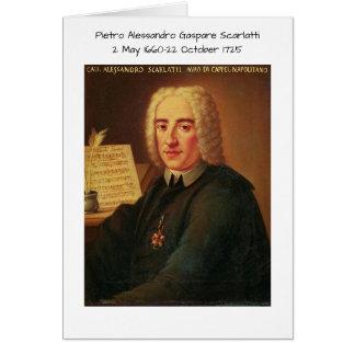 Pietro Alessandro Gaspare Scarlatti Card