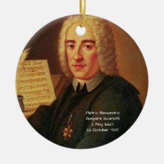 Pietro Alessandro Gaspare Scarlatti Ceramic Ornament