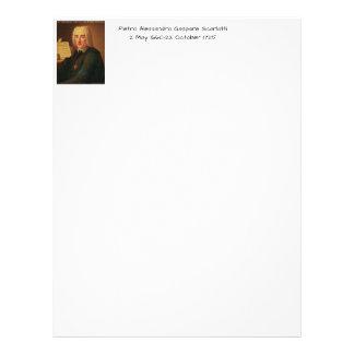 Pietro Alessandro Gaspare Scarlatti Letterhead