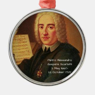 Pietro Alessandro Gaspare Scarlatti Metal Ornament