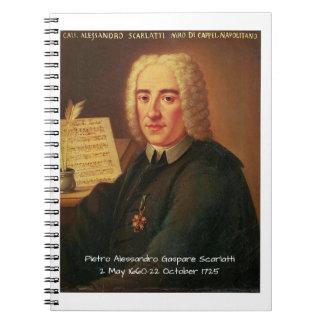 Pietro Alessandro Gaspare Scarlatti Notebook