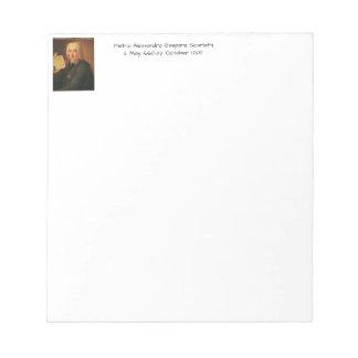 Pietro Alessandro Gaspare Scarlatti Notepad