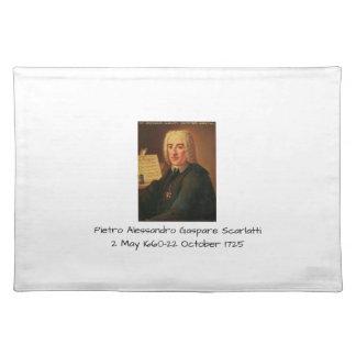 Pietro Alessandro Gaspare Scarlatti Placemat