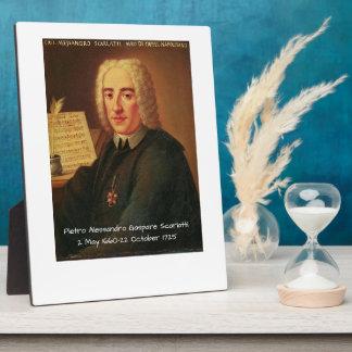 Pietro Alessandro Gaspare Scarlatti Plaque