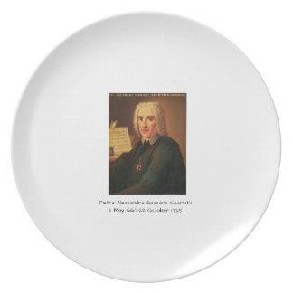 Pietro Alessandro Gaspare Scarlatti Plate