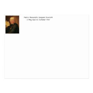 Pietro Alessandro Gaspare Scarlatti Postcard
