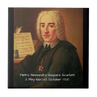 Pietro Alessandro Gaspare Scarlatti Tile