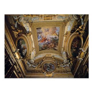 Pietro da Cortona:Ceiling Fresco in Hall of Saturn Postcard