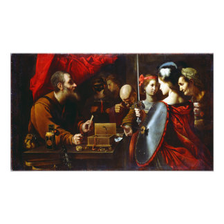 Pietro Paolini Achilles Daughters of Lycomedes Photo Print