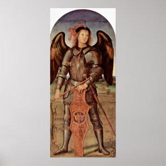 Pietro Perugino - Archangel Michael Poster
