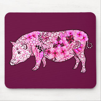 Pig 3 mouse pad