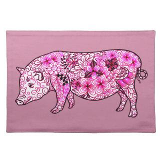 Pig 3 placemat