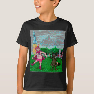Pig and Raccoon and a Rocket T-Shirt