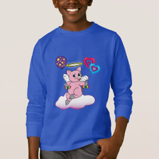 Pig Angel on a Cloud T-Shirt