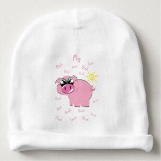 Pig Baby Beanie