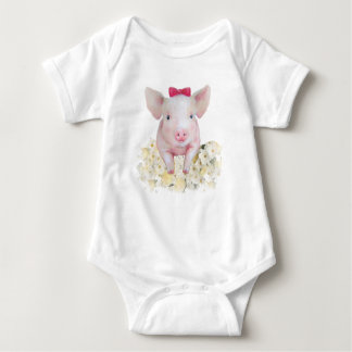 Pig baby clothes, baby bodysuit, infant clothes baby bodysuit