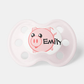 PIG BABY PACIFIER