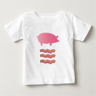 Pig Bacon Baby T-Shirt