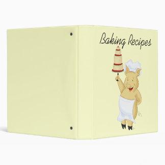 Pig Baker Recipe Avery Binder