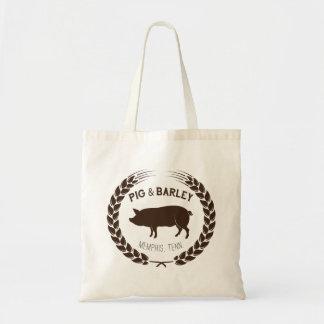 Pig & Barley market tote